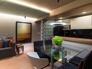 Modern dining room by Matheus Menezes Arquiteto Modern