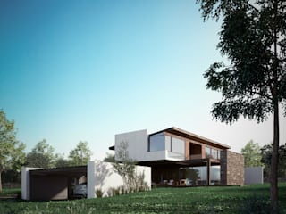 Houses by BAG arquitectura, Modern