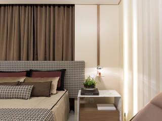 Moderne Schlafzimmer von Matheus Menezes Arquiteto Modern