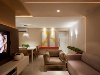 Modern living room by Matheus Menezes Arquiteto Modern