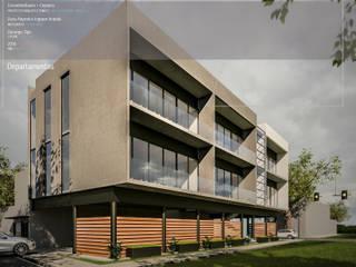 Houses by Cervantesbueno arquitectos, Modern