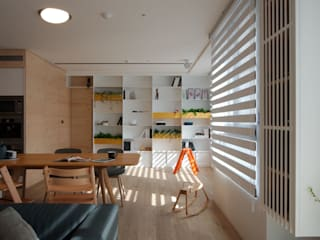 Minimalist dining room by 六相設計 Phase6 Minimalist