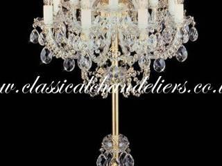 Bohemian Crystal Chandelier Floor Lamps Classical Chandeliers 玄關、走廊與階梯照明