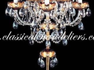 Bohemian Crystal Chandelier Floor Lamps Classical Chandeliers Corridor, hallway & stairsLighting