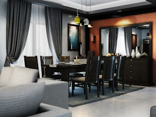 Dining room by Boly Designs, Modern