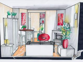 Nieuw interieur hofjeswoning Schuddegeest Den Haag:   door LINDESIGN Amsterdam Ontwerp Design Interieur Industrieel Meubels Kunst