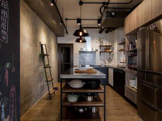 珞石設計 LoqStudio Endüstriyel Mutfak
