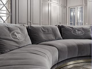 Galleria del Vento Living roomSofas & armchairs Wood Grey
