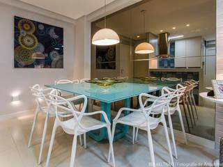 Столовые комнаты в . Автор – Cris Nunes Arquiteta,