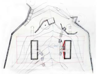 Modern walls & floors by Menos é Mais - Arquitectos Associados Modern