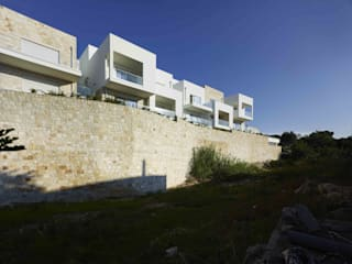 Chiar di Luna Residence: Case in stile in stile Mediterraneo di Monica Alejandra Mellace