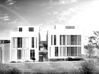 Alba Chiara Residence: Case in stile in stile Mediterraneo di Monica Alejandra Mellace