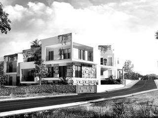 Borgo Alto Residence: Case in stile in stile Mediterraneo di Monica Alejandra Mellace