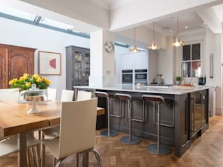 designer cool Chalkhouse Interiors Kitchen Wood Grey