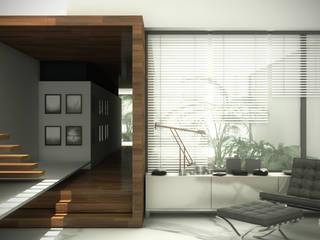 DISEÑO EN 3D DE INTERIORES:  de estilo  por ZP ARQUITECTOS
