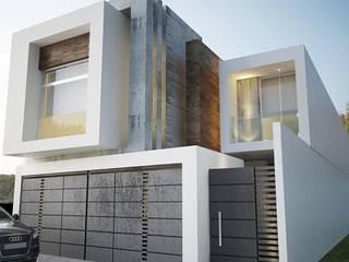 PROYECTO CAVAS Casas minimalistas de 9.15 arquitectos Minimalista