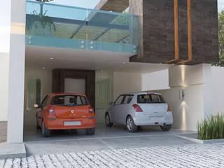 PROYECTO DL Casas minimalistas de 9.15 arquitectos Minimalista