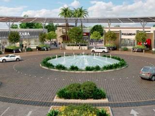 Ciudad Bonaterra Aguascalientes: Espacios comerciales de estilo  por Segovia ARQ