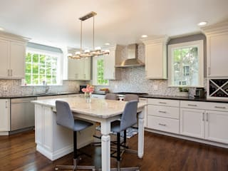 1920's Westchester Tudor Kitchen Redux :  Kitchen by Kitchen Krafter Design/Remodel Showroom