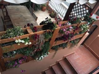 Jardín vertical de Mideco Rústico