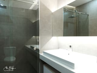 Modern style bathrooms by Ivo Sampaio Arquitectura Modern