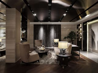 天坊室內計劃有限公司 TIEN FUN INTERIOR PLANNING CO., LTD. Living room