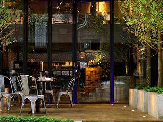 Gastronomía de estilo industrial de 天坊室內計劃有限公司 TIEN FUN INTERIOR PLANNING CO., LTD. Industrial