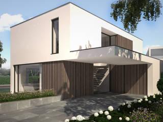 Woonhuis EGEJ:  Huizen door 2architecten