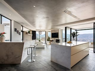 Exner Penthouse:  Kitchen by 2MD Exclusive Italian Design