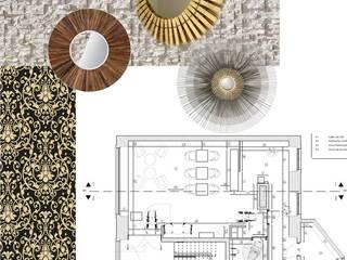 Bares y Clubs de estilo  por EGO Interior Design, Ecléctico