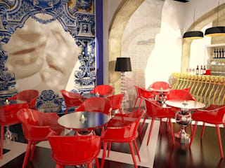 Eclectic style bars & clubs by EGO Interior Design Eclectic