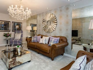 Take a step into luxury each day.. Modern living room by Graeme Fuller Design Ltd Modern