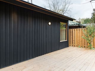 Scandinavian Inspired Garage and Sauna Scandinavian style garage/shed by STUDIO Z Scandinavian