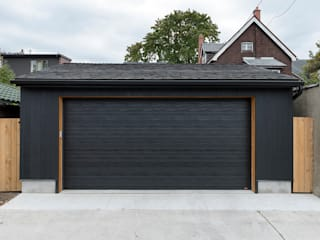Scandinavian style garage/shed by STUDIO Z Scandinavian