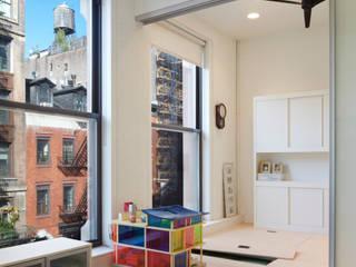 Bento Box Loft, Koko Architecture + Design:  Nursery/kid's room by Koko Architecture + Design
