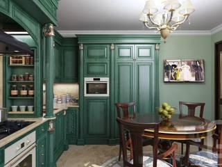 Классическая кухня в квартире: Кухни в . Автор – Константин Паевский-PAEVSKIYDESIGN,