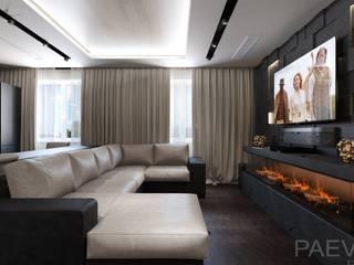 Living room by Константин Паевский-PAEVSKIYDESIGN, Industrial
