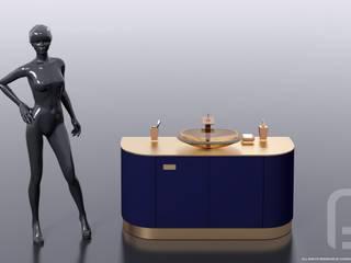 FLEXURE - Авторская коллекция мебели для ванной:  в . Автор – Константин Паевский-PAEVSKIYDESIGN,