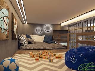 Chambre d'enfant originale par Компания архитекторов Латышевых 'Мечты сбываются' Éclectique