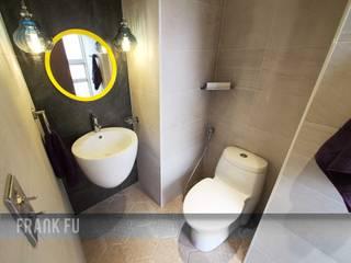 北投 阿曼 中孚 設計 / FRANKFU INERIOR DESIGN 現代浴室設計點子、靈感&圖片