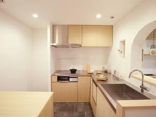 RIVA海老園 TYPE-A オリジナルデザインの キッチン の SWITCH&Co. オリジナル