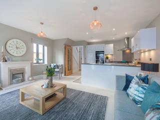 Cobbs Beck, Highcliffe. Dorset de Jigsaw Interior Architecture Mediterráneo