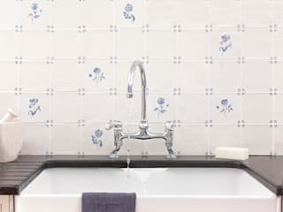 FLORA DELFT TILES:   by Decorum Tiles