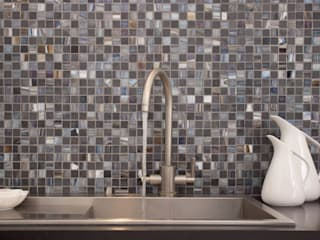 Earth Stone & Glass Mosaic Tiles:   by Decorum Tiles