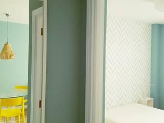 Apartamento Jade Dormitorios de estilo escandinavo de Esteban Rosell Escandinavo