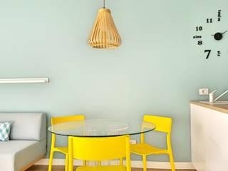 Apartamento Jade Comedores de estilo escandinavo de Esteban Rosell Escandinavo