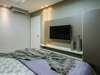 Спальни в . Автор – Cris Nunes Arquiteta,