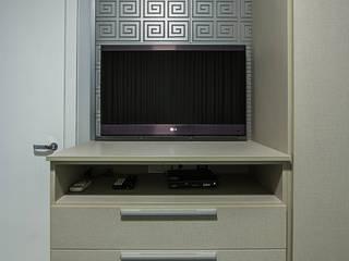 غرفة نوم تنفيذ Cris Nunes Arquiteta