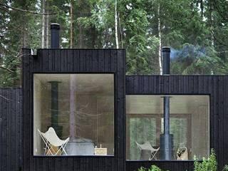 Case moderne di Casa Container Brasil Moderno