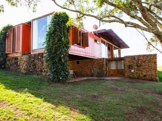 Casa Container Brasil - Projetos: Casas  por Casa Container Brasil,Moderno